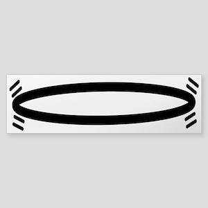 Pedestrian Hula-Hoop Sticker (Bumper 10 pk)