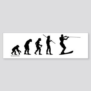 Water Ski Evolution Bumper Sticker (10 pk)