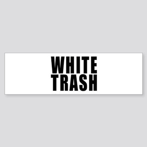 White Trash Sticker (Bumper 10 pk)