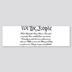 We the People Bumper Sticker (50 pk) Bumper Sticke