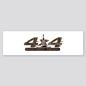 4 X 4 RIG UP CAMO Bumper Sticker