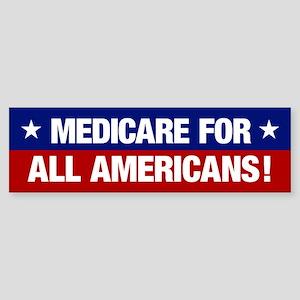 Medicare For All Americans (bumper Bumper Sticker