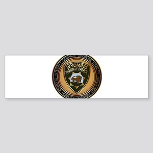 Wyoming HP logo Bumper Sticker