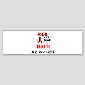 aids awareness month Sticker (Bumper 10 pk)