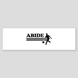 Abide bowling Bumper Sticker