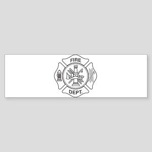 Fire department symbol Bumper Sticker