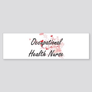 Occupational Health Nurse Artistic Bumper Sticker