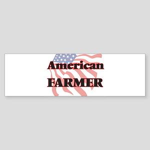 American Farmer Bumper Sticker
