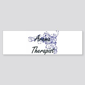 Aroma Therapist Artistic Job Design Bumper Sticker