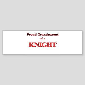 Proud Grandparent of a Knight Bumper Sticker