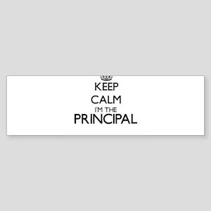Keep calm I'm the Principal Bumper Sticker