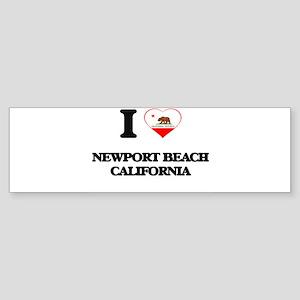 I love Newport Beach California Bumper Sticker