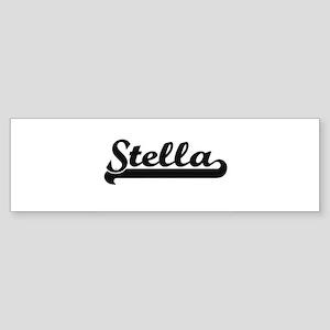 Stella Classic Retro Name Design Bumper Sticker