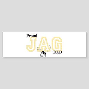 proud jag dad Bumper Sticker (10 pk)