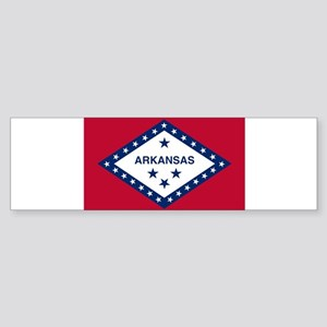 Flag of Arkansas Sticker (Bumper 10 pk)