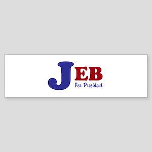 Jeb For President (bumper 10 Pk) Bumper Sticker
