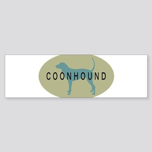 coonhound sage oval2 Bumper Sticker