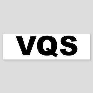 griffin VQS w-o-oval Bumper Sticker