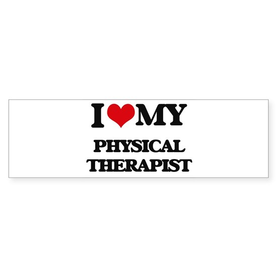 I love my Physical Therapist
