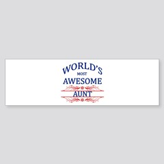 World S Most Awesome Aunt Stainless Water Bottle 1 By