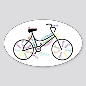 Motivational Words Bike Hobby Or Sport Sticker