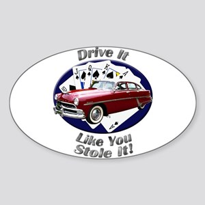 Hudson Hornet Sticker (Oval 10 pk)