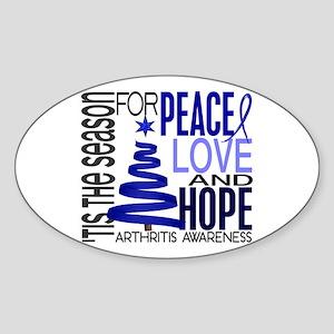 Christmas 1 Arthritis Sticker (Oval 10 pk)