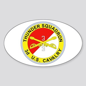 DUI - 3rd Squadron - 3rd ACR Sticker (Oval 10 pk)
