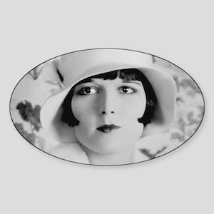louise brooks silent movie star Sticker