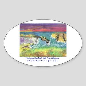 Mendocino Headlands State Park, California Sticker