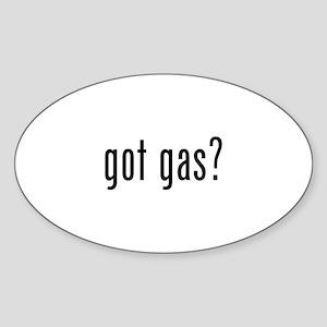 got gas? Oval Sticker (10 pk)