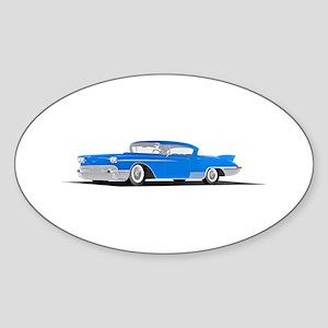Blue Caddi Oval Sticker (10 pk)