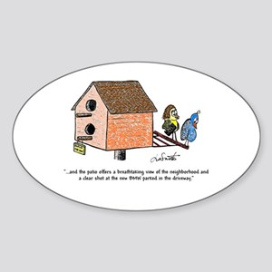 Flippin' The Birdhouse Sticker