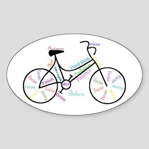 Motivational Words Bike Hobby Or Sport Sticker