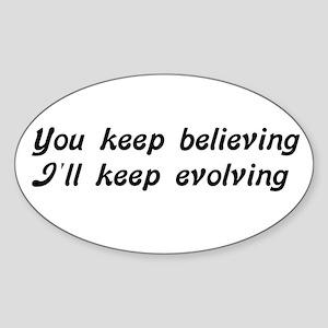 Evolution Rectangle Sticker