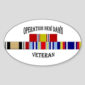 Operation New Dawn Ribbon Sticker