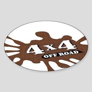 4x4 Drive anywhere! Sticker