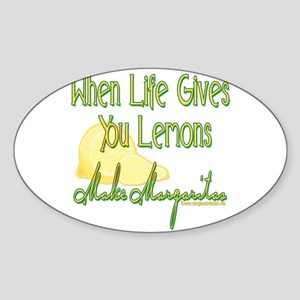 MAKEMARGARITASupdated copy.png Sticker (Oval 50 pk