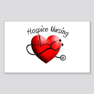 Hospice II Sticker (Rectangle 10 pk)