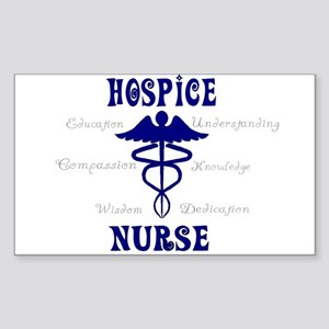 More Hospice Nursing Sticker (Rectangle 10 pk)