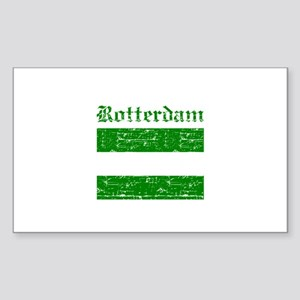 Rotterdam City Flag Sticker (Rectangle 10 pk)