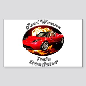 Tesla Roadster Sticker (Rectangle 10 pk)