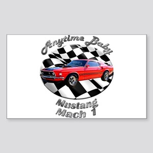 Ford Mustang Mach 1 Sticker (Rectangle 10 pk)