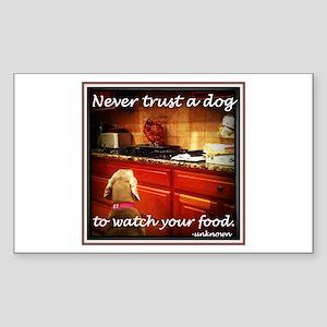 Food Watcher Sticker