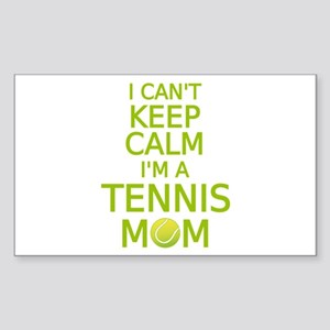 I can't keep calm, I am a tennis mom Sticker