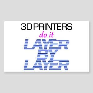 3D Printers do it... Sticker