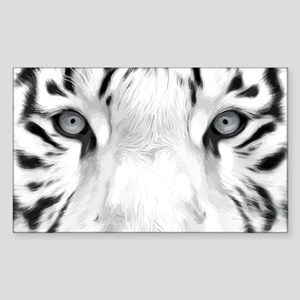 Realistic Tiger Painting Sticker