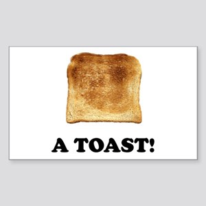 A Toast Sticker (Rectangle 10 pk)