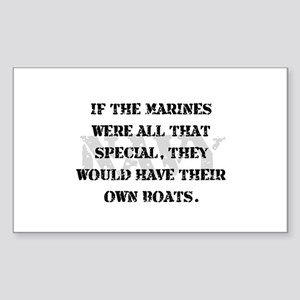 Navy Marines Boats Sticker