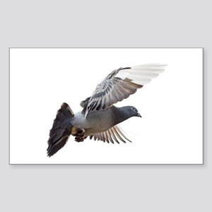 pigeon fly to love joy peace Sticker